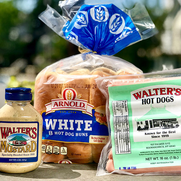 Walter's Hot Dog Packages
