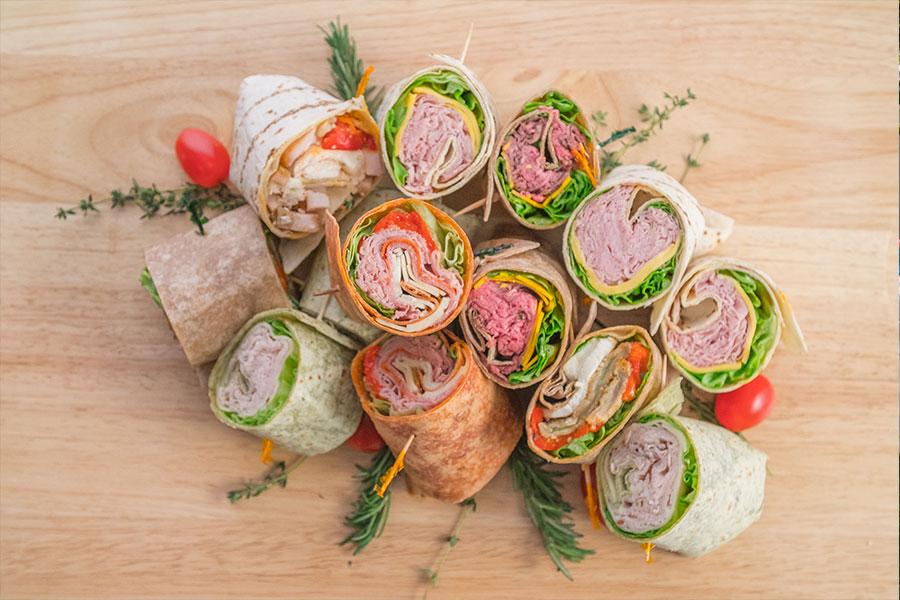 DeCicco Events Sandwich Wraps