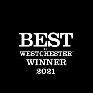 Best of Westchester Winner 2021 - Westchester Magazine